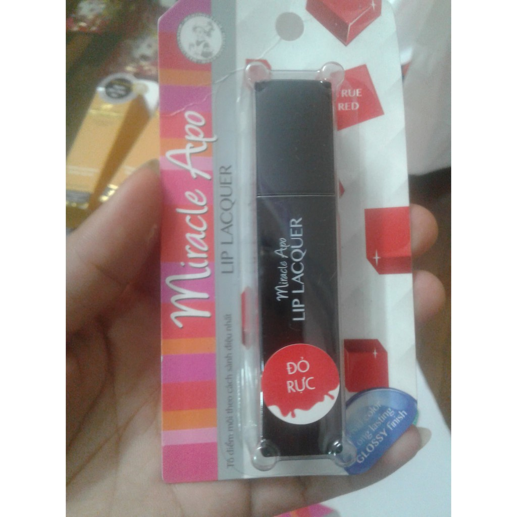 Son Miracle Apo Lip Lacquer