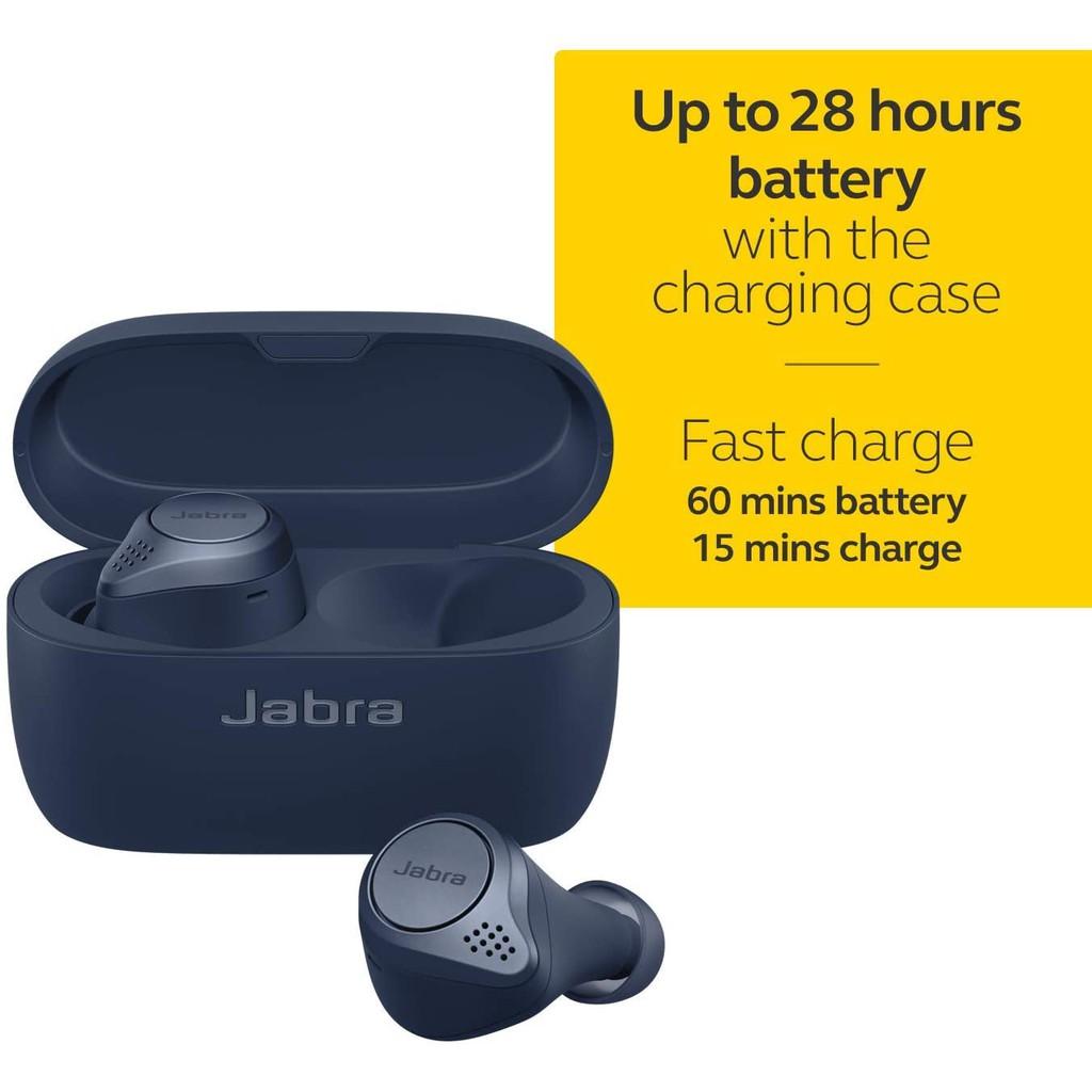 [Mã ELTECHZONE giảm 5% đơn 500K] Tai Nghe True Wireless Jabra Active 75T Wireless Charging - Hàng Chính Hãng