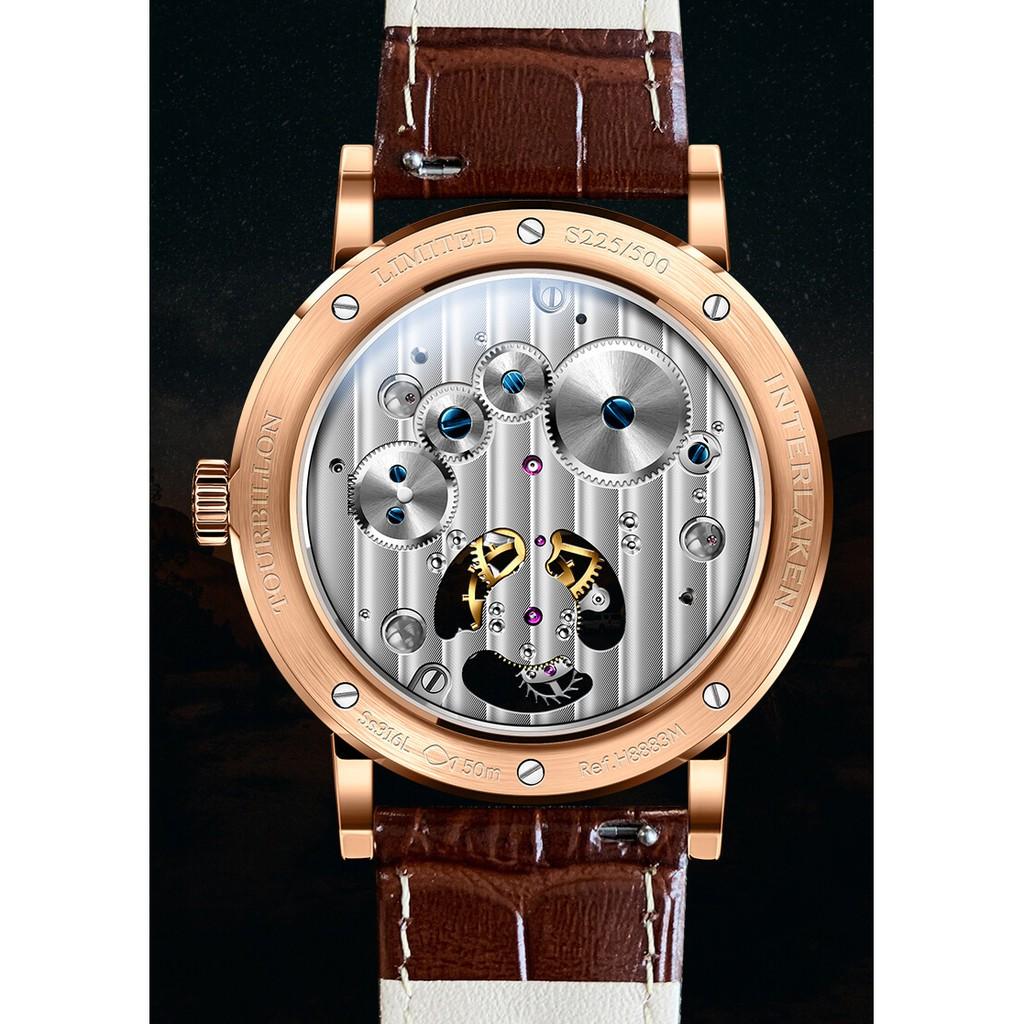 Đồng hồ nam chính hãng Lobinni Tourbillon No.8883-1