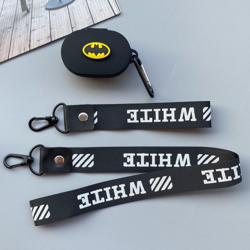 Ốp Bảo Vệ Hộp Đựng Tai Nghe Airpods Hình Batman Cho Xiaomi Redmi Airdot Youth