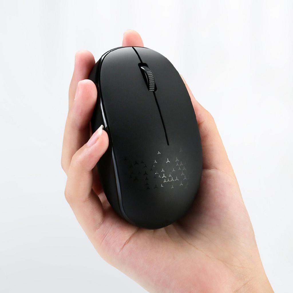 Chuột Quang Không Dây Kết Nối Bluetooth Cho Pc / Laptop