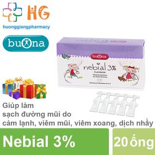[Kèm Quà Tặng] Dung dịch nhỏ mũi Nebial 3% Flaconcini - Hỗ trợ chống sung huyết mũi, làm ẩm, làm loãng dịch nhày thumbnail