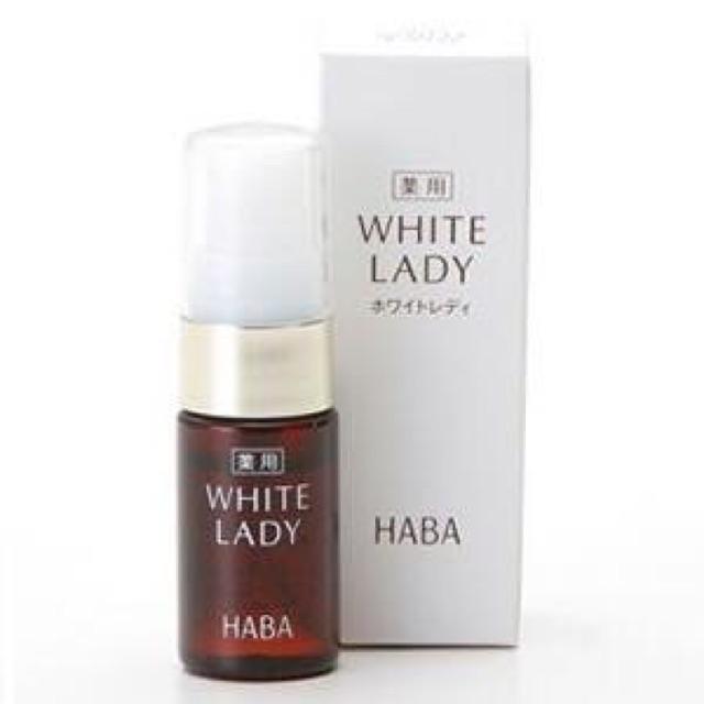 (Có sẵn) Serum dưỡng trắng Haba White Lady các size