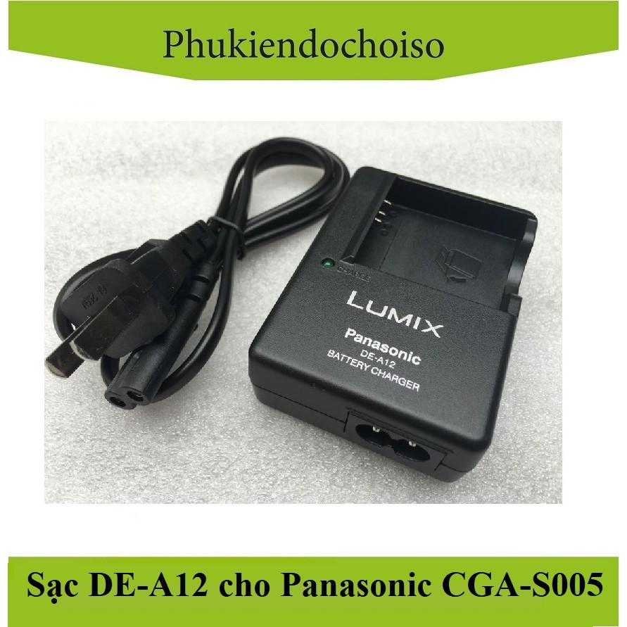 Sạc máy ảnh DE-A12 for Panasonic CGA-S005, Sạc dây