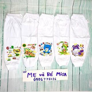 5 quần dài trắng bossini/ boshon cho bé từ 4-24kg