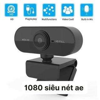 👑(Bảo hành 06 tháng) Webcam Kẹp 720P-1080 Màn Hình Tích Hợp Míc – Webcam Máy Tính Hỗ Trợ Học Trực Tuyến, để bàn