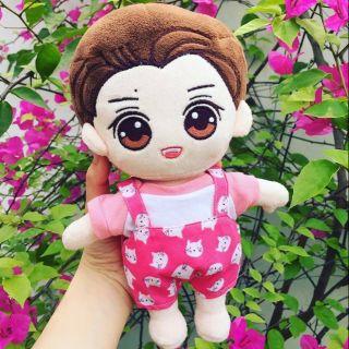 Set yếm Mèo Nhí Hồng [Outfit For Doll 20cm]