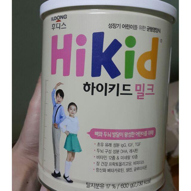 Sữa Hikid hàng nội địa xách tay (Hàn Quốc)
