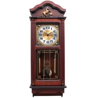 [Hàng loại 1] Đồng hồ treo tường quả lắc gỗ Kashi có chuông