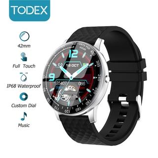 Đồng hồ thông minh TODEX H30 42mm màn hình cảm ứng chống nước IP68 hỗ trợ báo cuộc gọi tin nhắn SMS cho iOS / Android