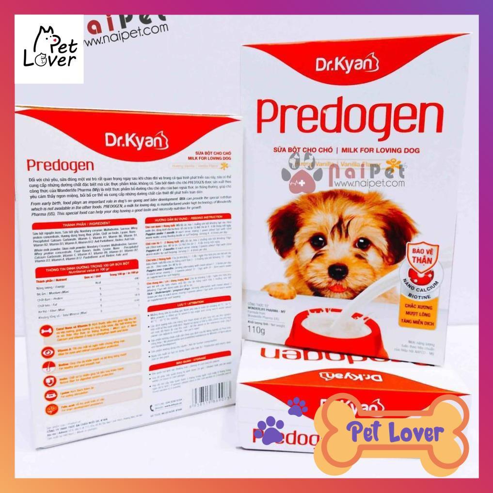 [FREESHIP] Sữa Bột Dinh Dưỡng Cho Chó Predogen Dr.Kyan Hộp 110g _Petlover-