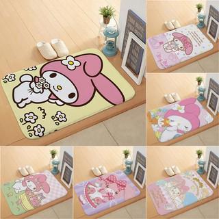 Thảm trải sàn cửa vào phòng tắm/bên cạnh giường thiết kế hình nhân vật My Melody
