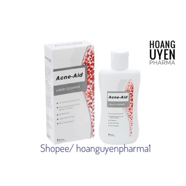 Sữa rửa mặt cho da nhờn, mụn Acne-aid liquid Cleanser 100ml