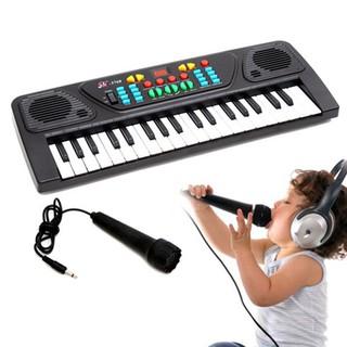 Combo Đàn đồ chơi organ có mic + Nhiệt kế điện tử