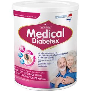 Sữa bột Medical Diabetex 400gr