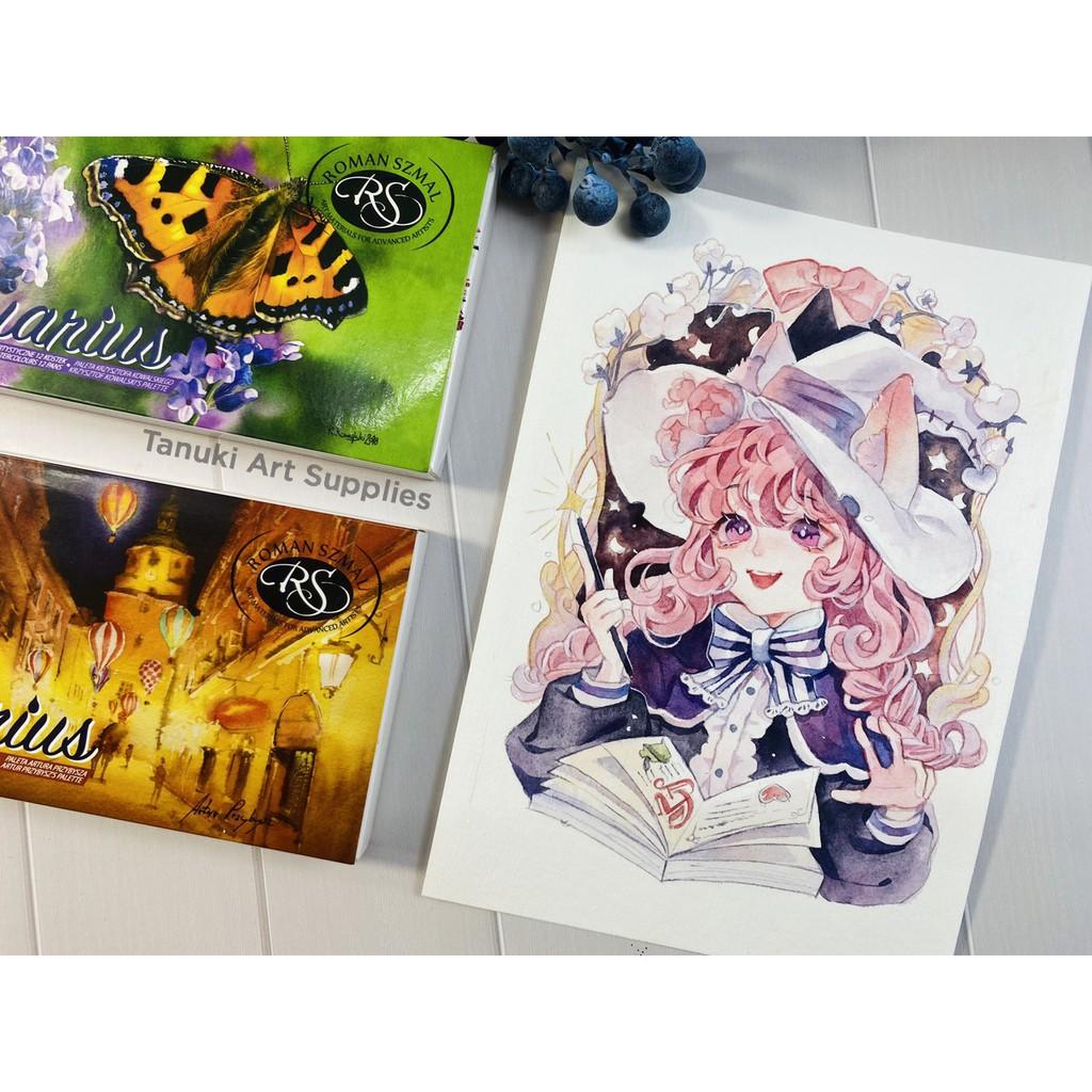 Màu nước hạng họa sĩ Roman Szmal Aquarius các set - Mực Các Loại |  ShopSach.com