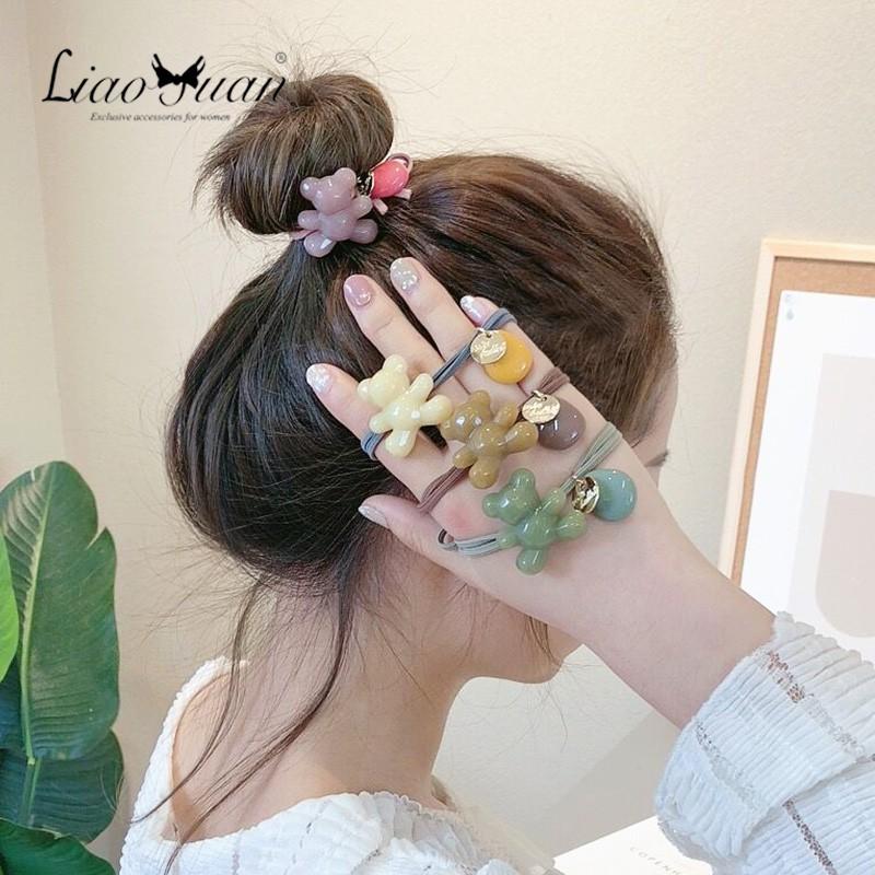 dây buộc tóc nữ co giãn thời trang hàn - 15011998 , 2637487988 , 322_2637487988 , 68800 , day-buoc-toc-nu-co-gian-thoi-trang-han-322_2637487988 , shopee.vn , dây buộc tóc nữ co giãn thời trang hàn