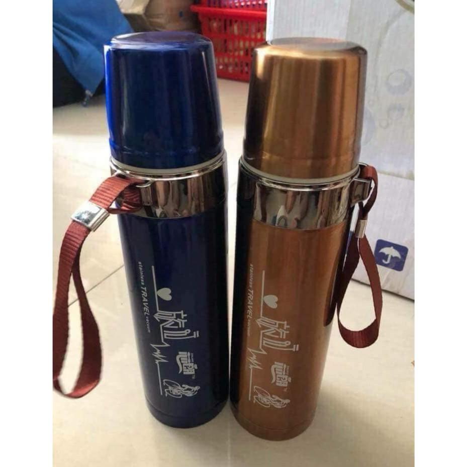 Bình giữ nhiệt cao cấp 800ml - Ấm nước giữ nhiệt dễ mang theo Bình giữ nhiệt cao cấp 800ml