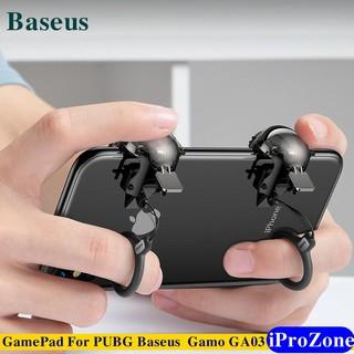 GamePad Nút bấm hỗ trợ chơi game PUBG Chính hãng Baseus GA03 Gamo HELMET LV3 thumbnail