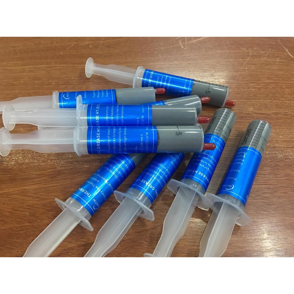 Keo tản nhiệt làm mát cpu loại ống chích