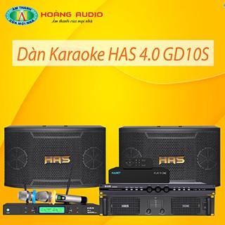 Bộ dàn karaoke gia đình HAS 4.0 GD10S thumbnail