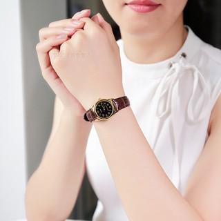 Đồng hồ nữ dây da Casio chính hãng Anh Khuê LTP-V001GL-1BUDF