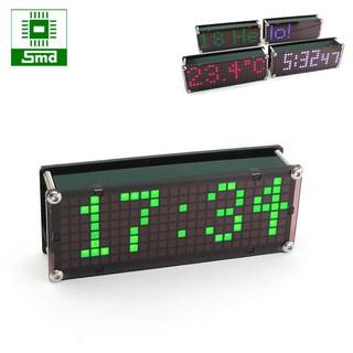 Đồng hồ Led để bàn Matrix Mini V2 (Màu xanh lá)