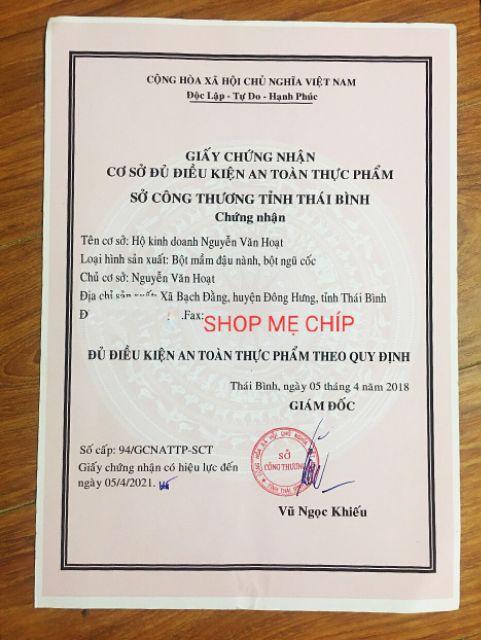[HÀNG CHÍNH HÃNG] 1Kg Mầm đậu nành Tuệ Minh mẫu mới nhất
