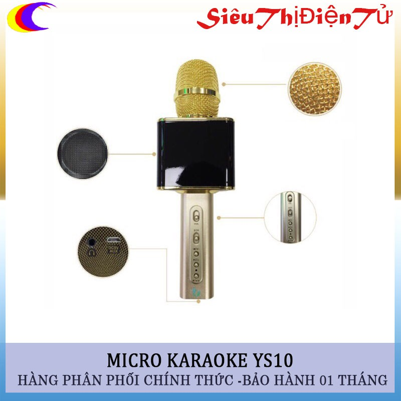 Mic karaoke ys10 micro ys10