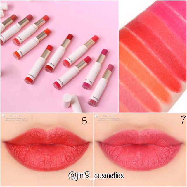 Son Innisfree Real Fit Velvet Lipstick