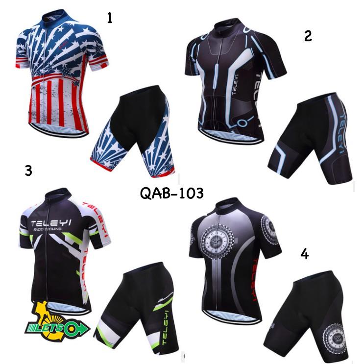 Quần áo bộ xe đạp TELEYI QAB-103