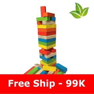 FREESHIP ĐƠN 99K_[99k Free Ship] Đồ chơi rút gỗ màu sku sp PL4788