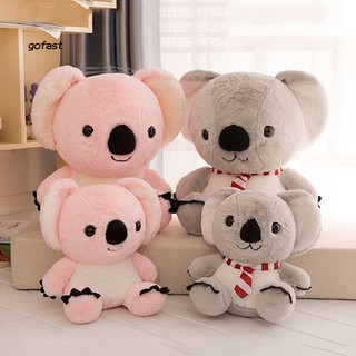 35/50cm Cute Simulated Koala Animal Plush Toy Soft Stuffed Doll Pillow Cushion