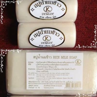Xà bông cám gạo, sữa dê Thái Lan