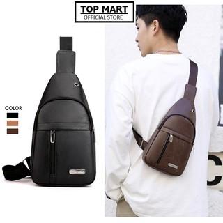 Túi đeo chéo nam chất liệu da PU chống nước 3 màu thời trang hàn quốc TC124 thumbnail