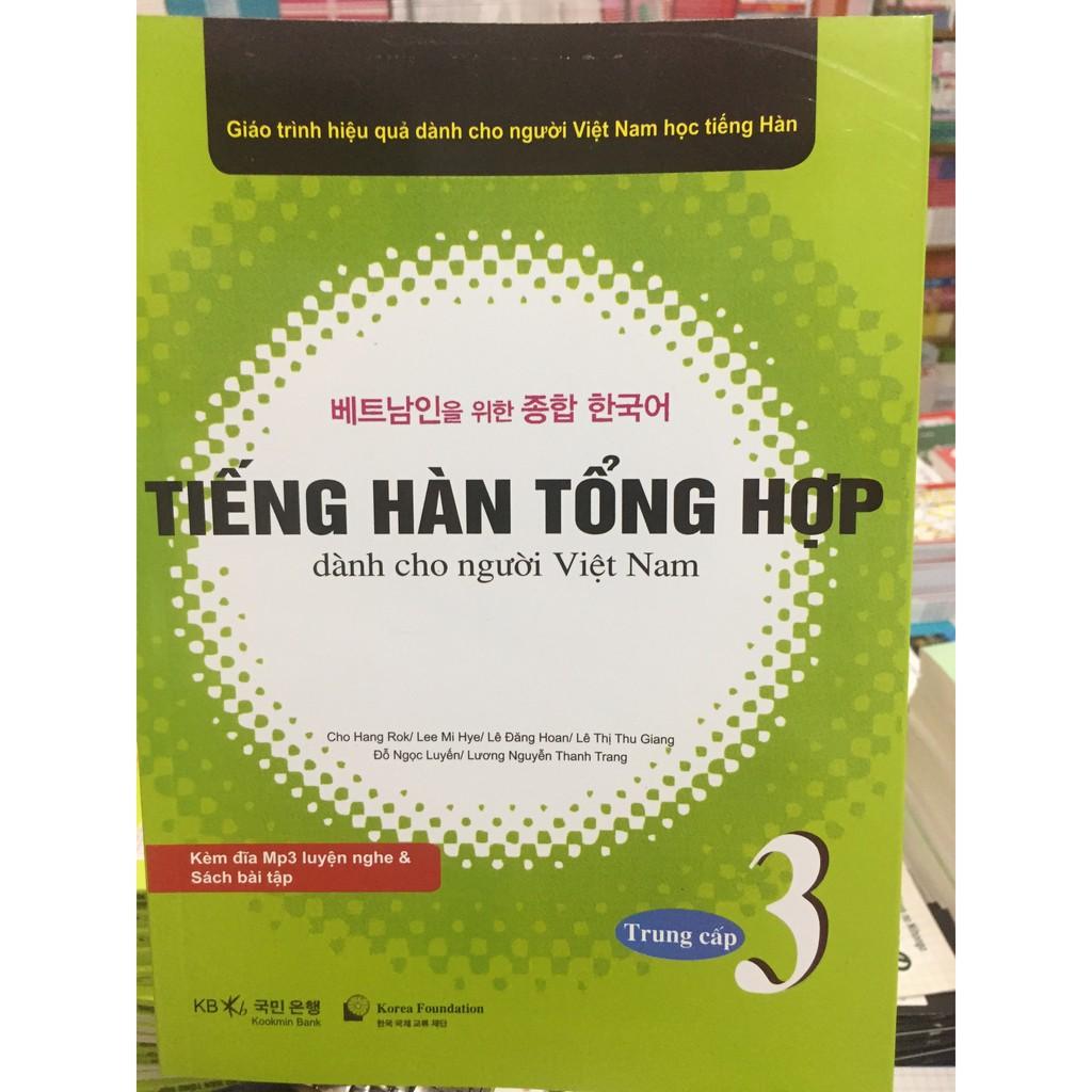 Giáo Trình Tiếng Hàn Tổng Hợp dành cho người Việt Trung cấp 3