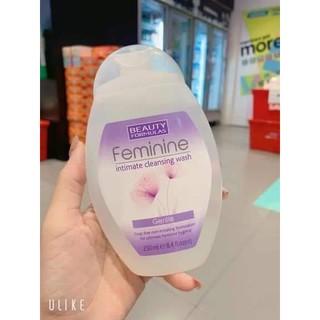 DUNG DỊCH VỆ SINH PHỤ NỮ FEMININE thái lan 250ml thumbnail