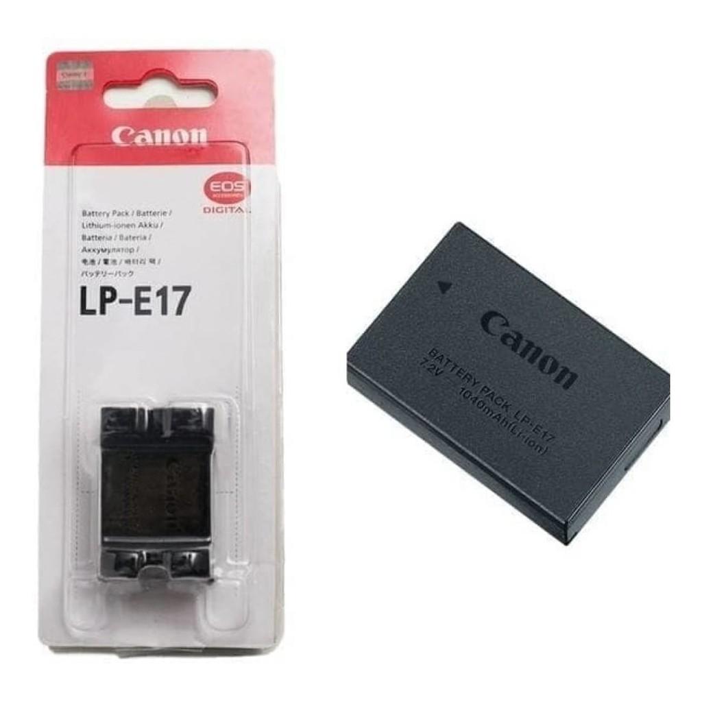 Bộ 1 pin 1 sạc máy ảnh Canon LP-E17, Hàng nhập khẩu