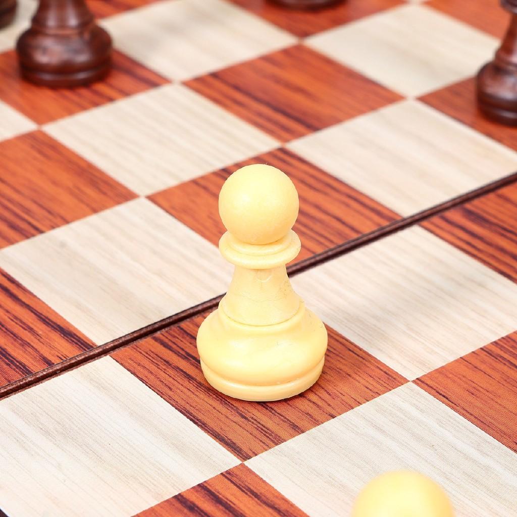 ❁❁Bộ bàn cờ gấp gọn bằng gỗ 32 chiếc