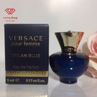 Nước hoa nữ Versace Pour Femme Dylan Blue mini hương thơm thanh lịch, gợi cảm nữ tính