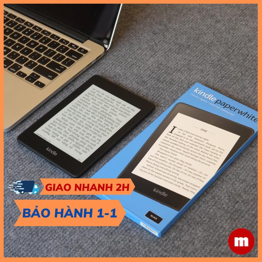 Máy đọc sách Kindle Paperwhite - thế hệ 10, hỗ trợ CHỐNG NƯỚC IPX8 - tên gọi khác Kindle Paperwhite 4 - maydocsach.vn
