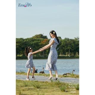 Set áo + chân váy cho bé gái Emspo SMS2519 - J1049 (Xanh, Đen)
