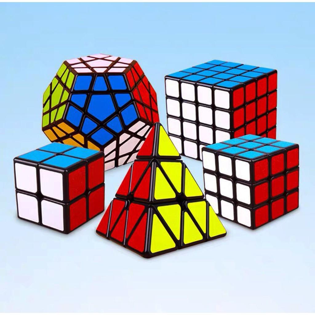 Rubik 3x3 Qiyi Sail Rubik 3 Tầng Khối Lập Phương Rubik