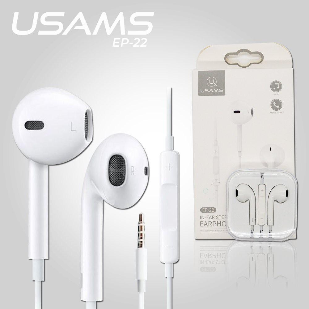 Tai nghe điện thoại Usams EP-22 chính hãng | Shopee Việt Nam