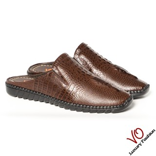 Giày sabo da bò sang trọng VO LUXURY FASHION thumbnail