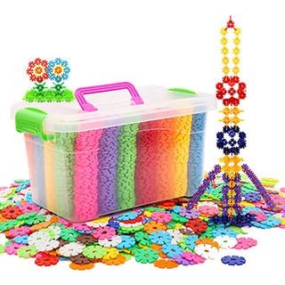 Bộ đồ chơi xếp hình hoa tuyết sáng tạo cho bé