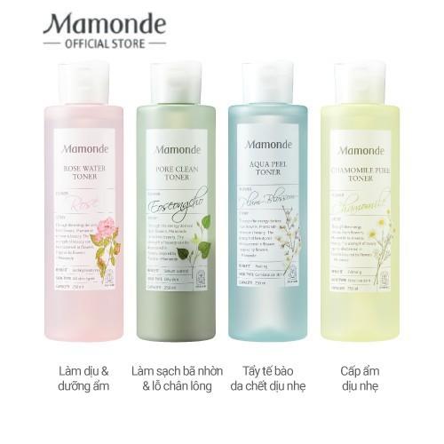 Nước cân bằng làm sạch và cung cấp độ âm Mamonde Toner 250ml