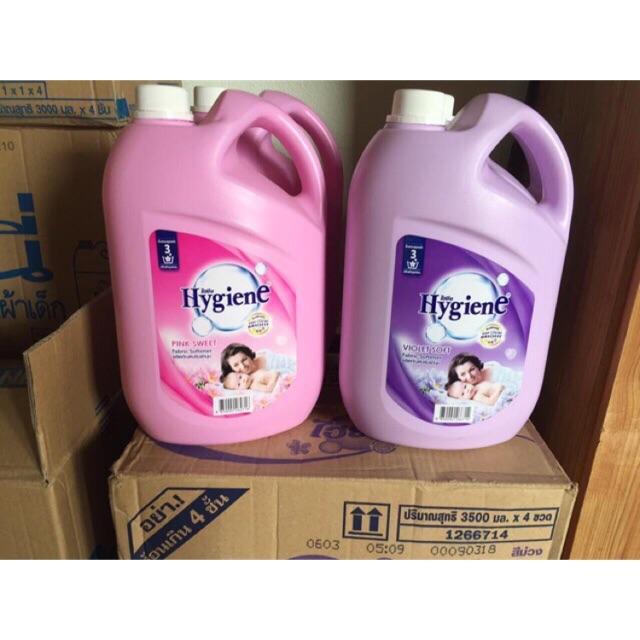 Nước xả vải hygien can 3500 mL Tha