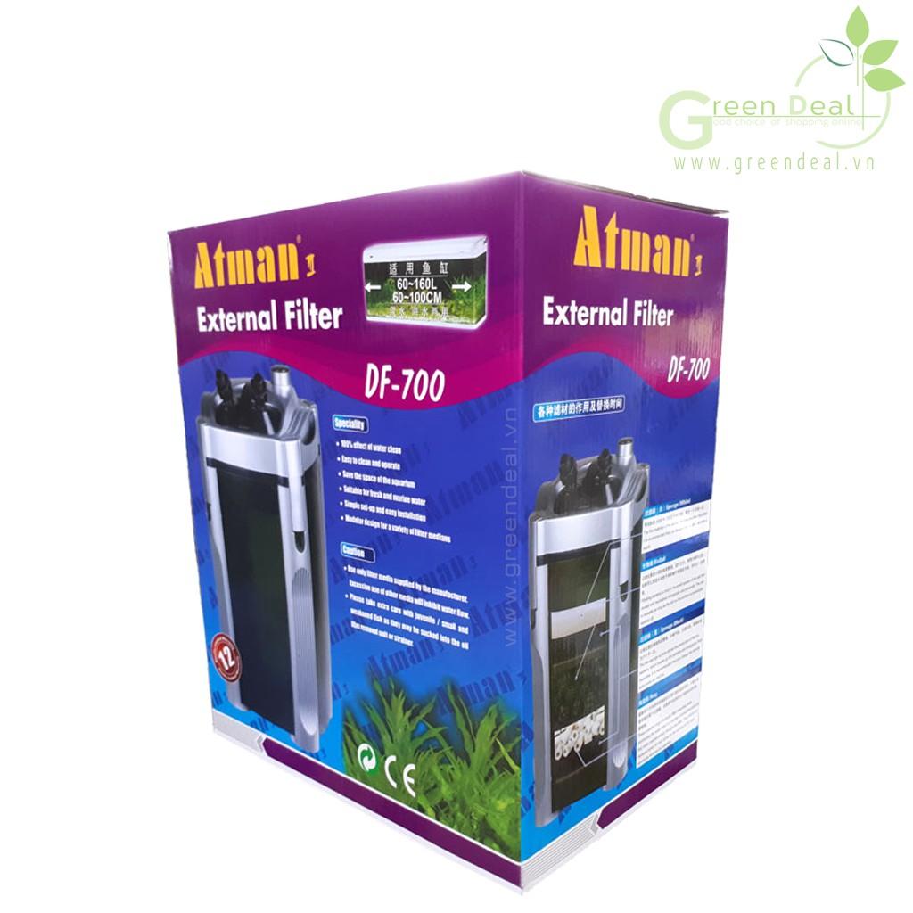 ATMAN - External Filter DF-700 - Lọc thùng cao cấp cho hồ thuỷ