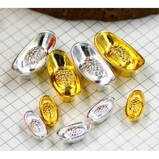 Miniature, dollhouse_thỏi vàng bạc